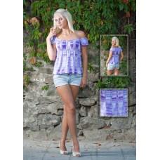 Дамска блуза с ластик