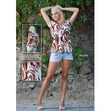 Дамска блуза с ластик в талията